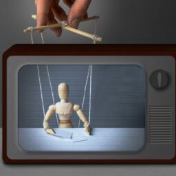 ivermectin fake news marionette controlled in TV